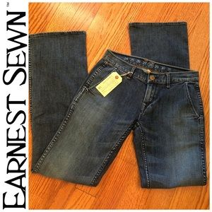 Earnest Sewn GARBO Flare Jeans